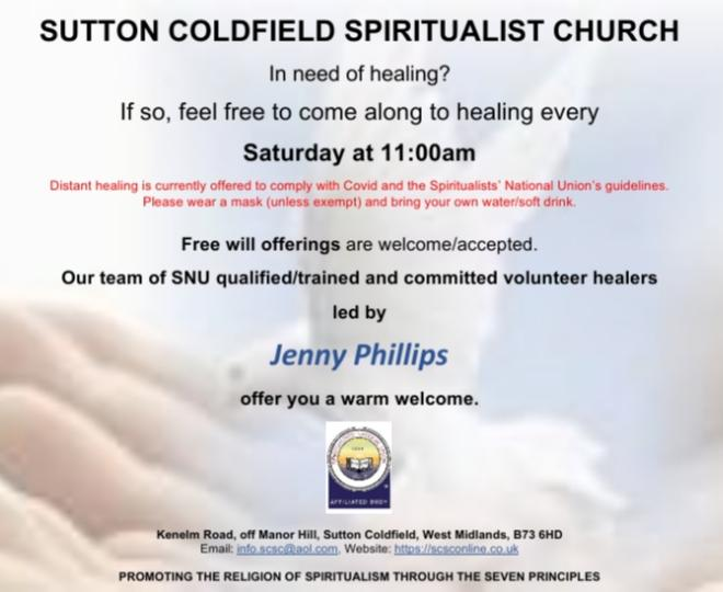 Healing Saturday